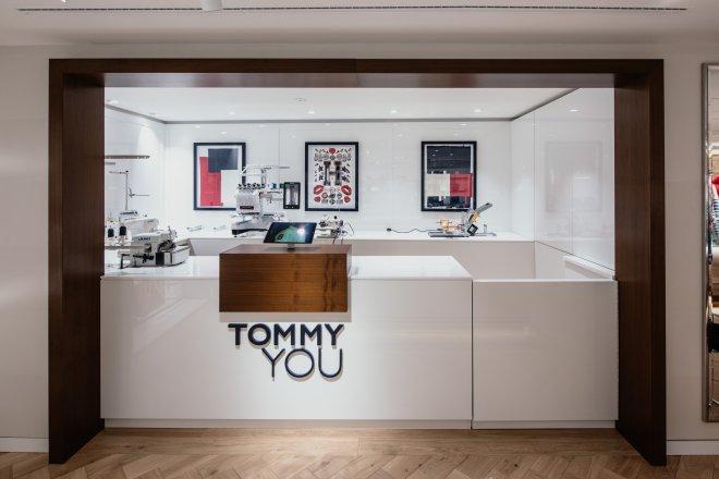 Interieur Tommy Hilfiger Zürich