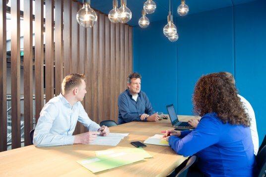 kantoor Teamwork interiors