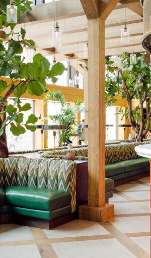 Algemene ruimte in hotel