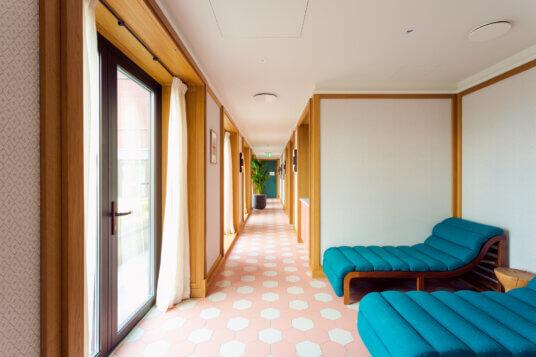 Slaapkamer interieur hotel